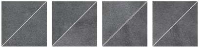 Декор Rako Form темно-серый DDP3B697 33×33
