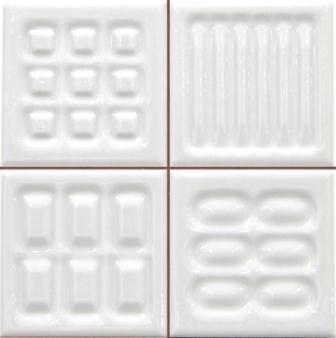 Настенная плитка Argenta Matrix Link White Prei 20×20