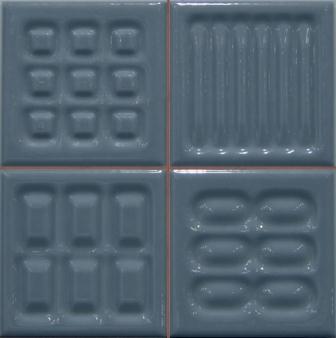 Настенная плитка Argenta Matrix Link Indigo Prei 20×20