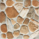 Плитка напольная Rako Pebbles красно-коричневый DAR3B703 33×33