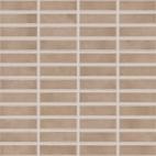 Мозаика Rako Tulip коричневый GDMAJ008 2,5×7,5