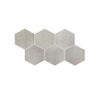 Плитка напольная Rako Via серый DDVT8711 21×37