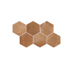 Плитка напольная Rako Via коричневый DDVT8713  21×37
