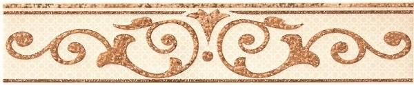 Бордюр Pamesa Nicea List. Vanity Crema 5х25