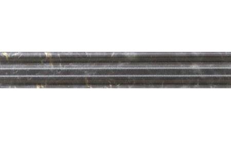 Фриз Alaplana Donna Negro Cenefa 5×25