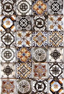 Плитка настенная Argenta Novum Multicolor 25×40
