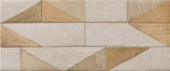 Плитка настенная Argenta Breton Warm 25×60