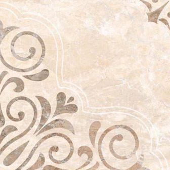 Плитка напольная Myr Ceramica Royal Marfil Floral 45×45
