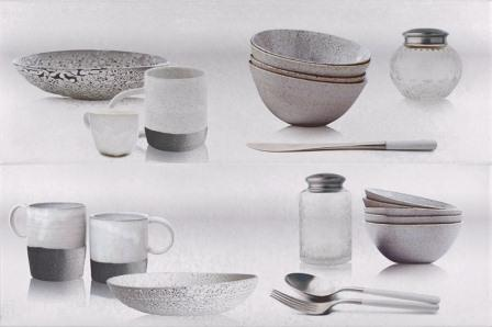 Декор Myr Ceramica Concret Blanco D-957 Cocina 50×75