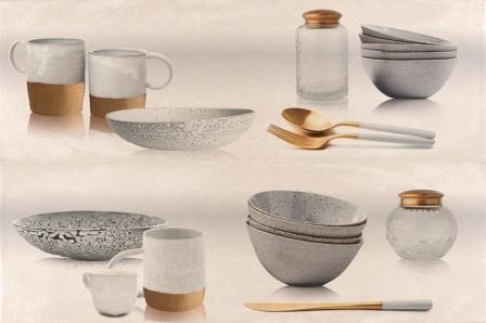 Декор Myr Ceramica Concret Beige D-957 Cocina 50×75