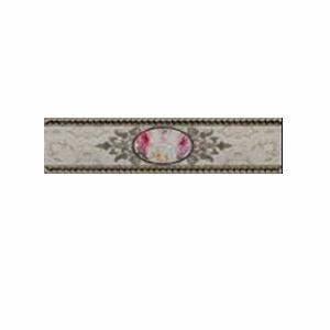 Фриз Myr Ceramica Trevi Flor Gris Listelo 933 6,5×25