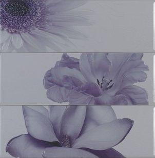 Декор Myr Ceramica Chloe lila D-930 75×75