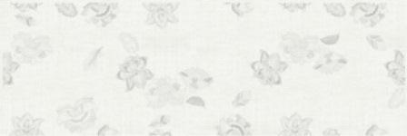Плитка настенная Myr Ceramica Lino Flor Blanco 25×75