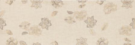 Плитка настенная Myr Ceramica Lino Flor Beige 25×75