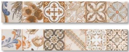 Плитка напольная Cerpa Mix Decor 14,5×87
