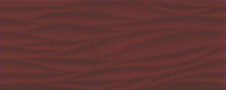 Плитка настенная Ceramika Konskie Marina Burgund 20×50
