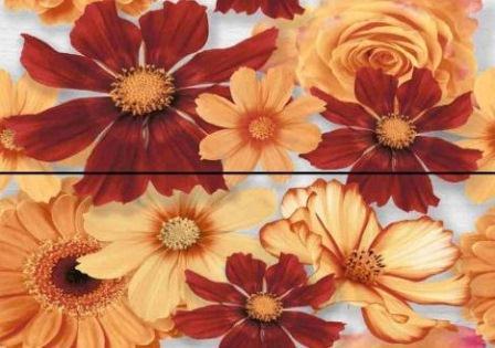 Декор Ceramika Konskie Karen Flowers Inserto ceram. 40×50