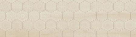 Декор Ceramika Konskie Pesaro Hexagon 25×90
