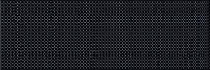 Декор Ceramika Konskie Circle Black Glass Inserto sklane. 20×60