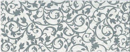 Декор Ceramika Konskie Oxford 3 White Inserto ceram 20×50