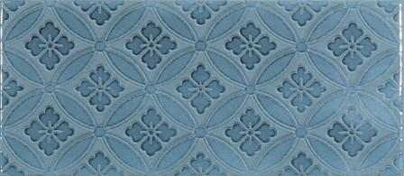 Плитка настенная Roca Maiolica Blue Steel Deco 11×25
