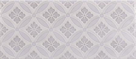 Плитка настенная Roca Maiolica Tender Gray Deco 11×25