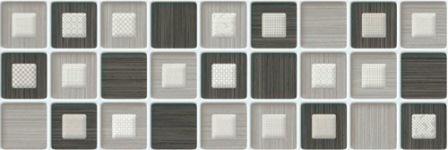 Плитка настенная Saloni Prisma Gris Mosaico 20×60