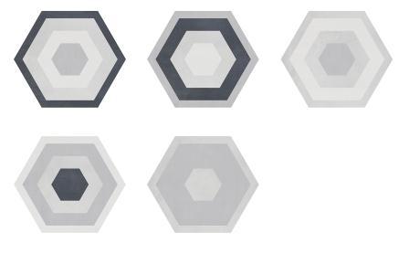 Плитка Geotiles STARKDEC GRIS 25,8х29