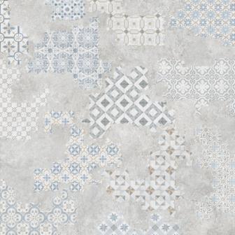 Плитка Geotiles DEC COVER ACERO SEMIPUL RECT 60х61
