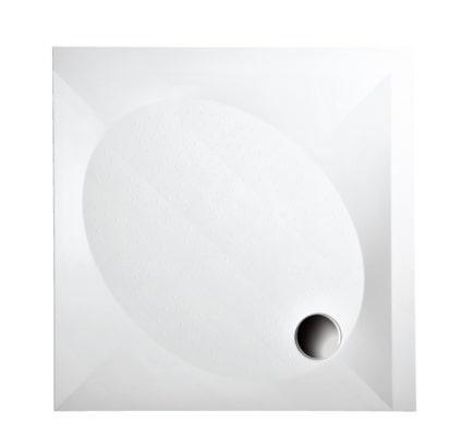 Душевой поддон из литого камня PAA ART KV в комплекте 100×100