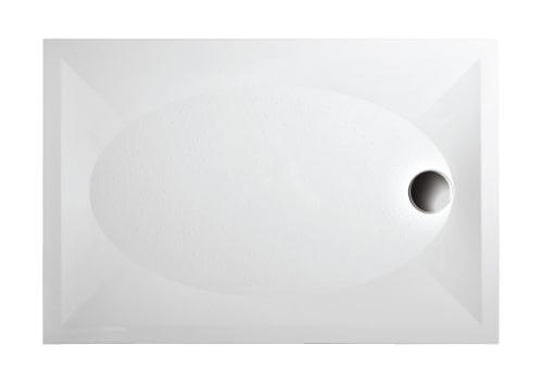 Душевой поддон из литого камня PAA ART KV в комплекте 80×120