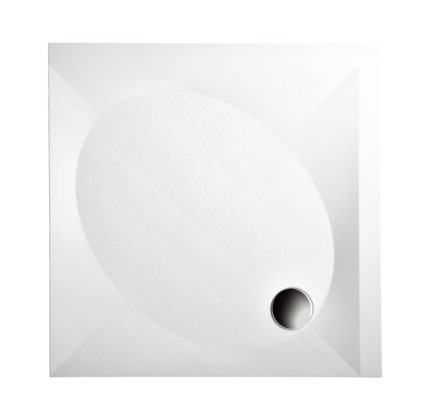 Душевой поддон из литого камня PAA ART KV в комплекте 90×90