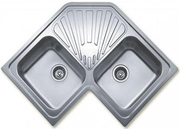 Кухонная мойка Teka CLASSIC ANGULAR 2B 830х830 (10118005)