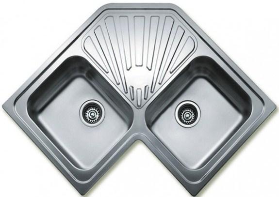 Кухонная мойка Teka CLASSIC ANGULAR 2B 830х830 (10118007)