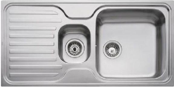Кухонная мойка Teka CLASSIC 1 1/2 B 1D 1000х500 (10119040)
