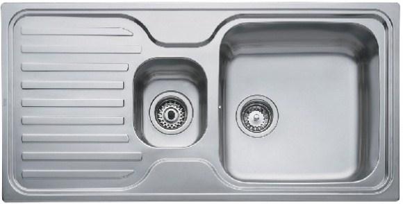 Кухонная мойка Teka CLASSIC 1 1/2 B 1D 1000х500 (10119053)