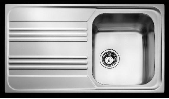 Кухонная мойка Teka Cosmos 1B 1D 860х500 (10122010)