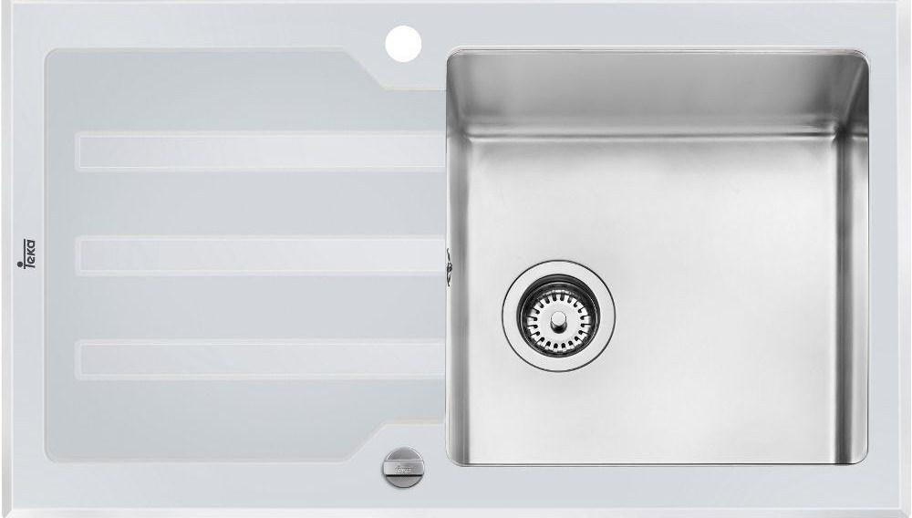 Кухонная мойка Teka LUX 1B 1D 86 REV 12129012 860х510 (12129012)