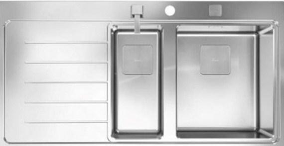 Кухонная мойка Teka ZENIT R15 1 1/2B 1D LHD 100х520 (13139008)