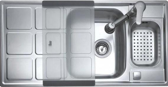 Кухонная мойка Teka CUADRO 60 B 980х500 (88012)