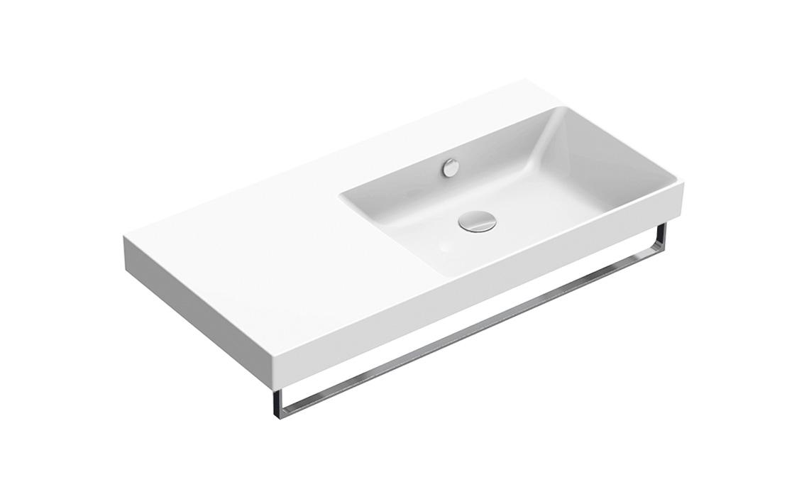 Умывальник Catalano NEW ZERO 100×50 правый белый 110DZEUP00