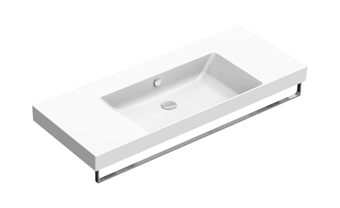 Умывальник Catalano NEW ZERO 125×50 белый 1125ZEUP00