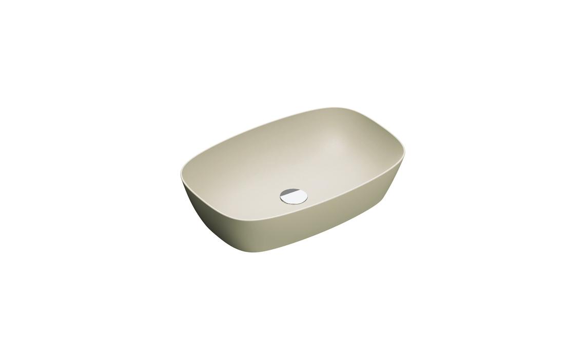 Умывальник Catalano GREEN LUX 60х40 серый матовый 160APGRLXGS