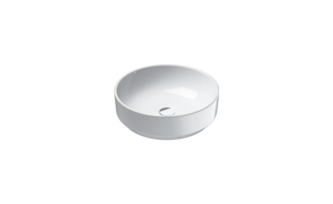 Умывальник Catalano GREEN 48х48 белый 148AGR00