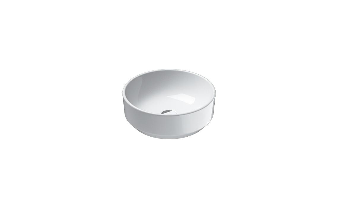 Умывальник Catalano GREEN 42х42 белый 142AGR00