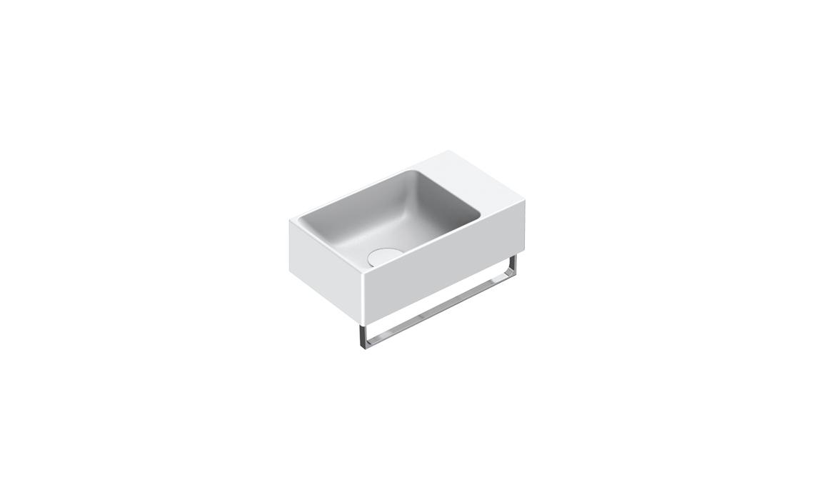 Раковина Catalano VERSO 40×23 белая матовая 14023VEBM