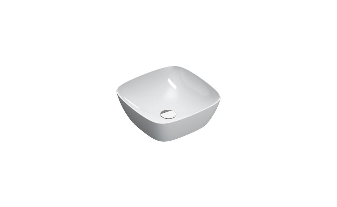 Умывальник Catalano GREEN LUX 40×40 белый 140APGRLX00