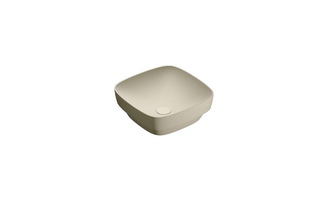 Умывальник Catalano GREEN LUX 40х40 серый матовый 140AGRLXGS