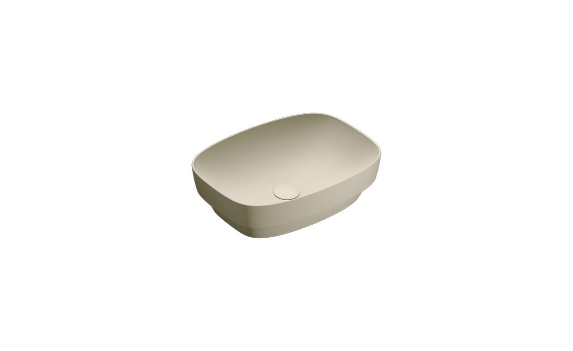 Умывальник Catalano GREEN LUX 50х38 серый матовый 140AGRLX00