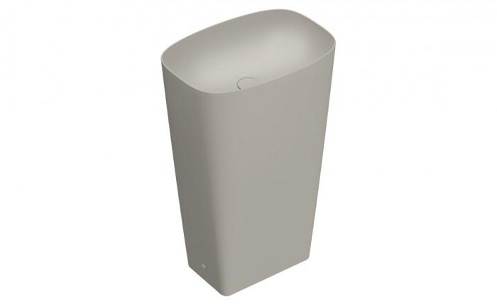 Раковина Catalano GREEN LUX отдельностоящая 55x38x85h cement satin 1FRPGRLXCS